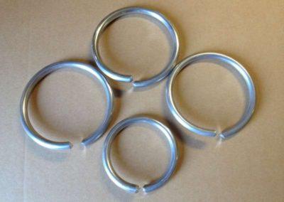 Anelli in lega di alluminio
