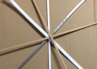 Insulated aluminum wires: Nomex T410 Dupont, Mylar/Polyester, Kraft, others upon specific request
